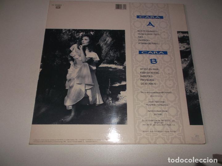 Discos de vinilo: ROCÍO JURADO - ROCÍO DE LUNA BLANCA - LP EMI 1990 - Foto 2 - 148083738