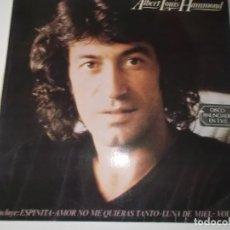 Discos de vinilo: ALBERT, HAMMOND - ALBERT LOUIS HAMMOND (SPAIN, EPIC RECORDS 1978). Lote 148085430