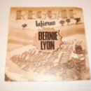 Discos de vinilo: SINGLE BERNIE LYON REGGAE INFIERNO. BARCLAY 1980 SPAIN (DISCO PROBADO Y BIEN, SEMINUEVO). Lote 148087746
