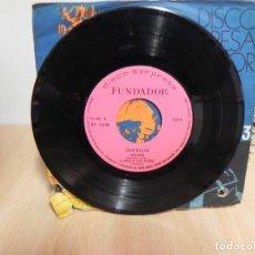 Discos de vinilo: ZARZUELA - BOHEMIOS + 3 TEMAS MAS ( VER TITULOS) - - DISCO SORPRESA FUNDADOR . Lote 148088290