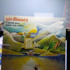 Discos de vinilo: LP INTI-ILLIMANI 8 : CANCION PARA MATAR UNA CULEBRA ( FIRMADO POR LOS COMPONENTES DEL GRUPO ). Lote 148088578