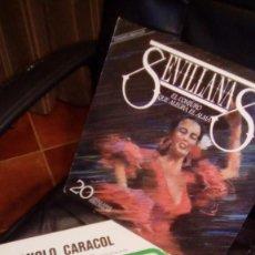 Discos de vinilo: MANOLO CARACOL + LP DOBLE SEVILLANAS. Lote 148093450