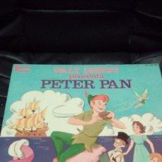 Discos de vinilo: WALT DISNEY PETER PAN Y PINOCHO,LIBROS- DISCOS. Lote 148097714