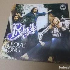 Discos de vinilo: PRELUDE (SN) A LOVE SONG AÑO 1976. Lote 148098614