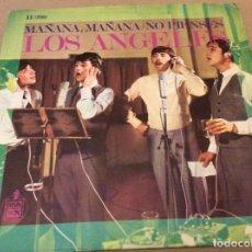 Discos de vinilo: LOS ÁNGELES - MAÑANA, MAÑANA - NO PIENSES - HISPAVOX 1968.. Lote 148103014