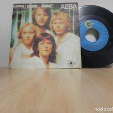 Discos de vinilo: ABBA - GIMME GIMME GIMME / THE KING HAS LOST HIS CROWN (SINGLE FRANCES, VOGUE 1979) . Lote 148103394