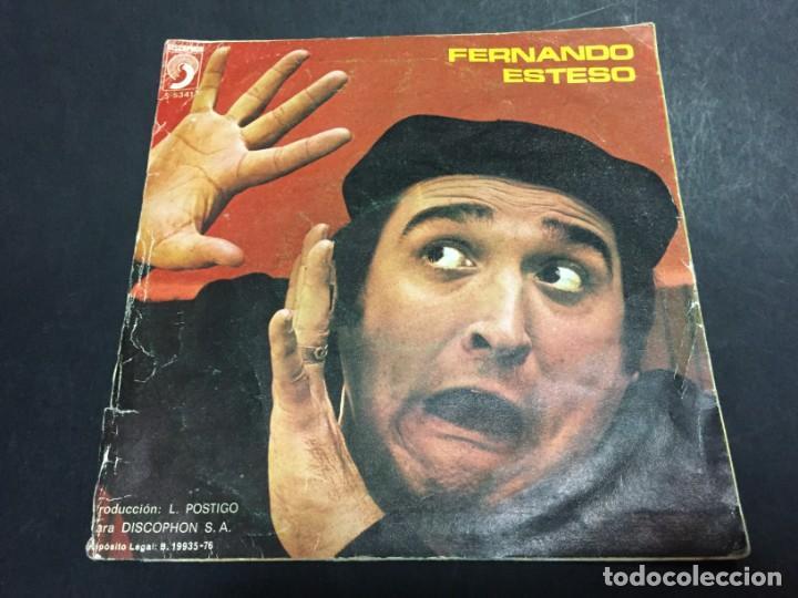 FERNANDO ESTESO LA RAMONA EL DESTAPE SINGLE VINILO (Música - Discos - Singles Vinilo - Solistas Españoles de los 70 a la actualidad)