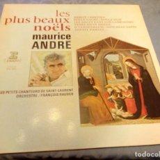 Discos de vinilo: MAURICE ANDRÉ,LES PETITS CHANTEURS DE SAINT-LAURENT,ORCHESTRE / FRANÇOIS RAUBER? LES PLUS BEAUX,1980. Lote 148123002