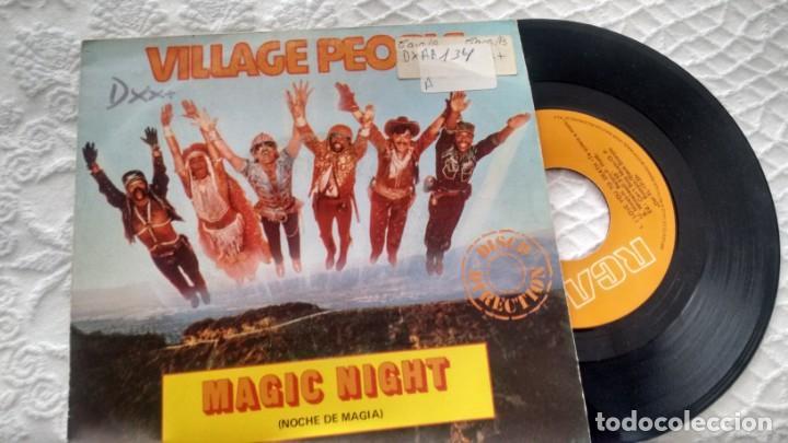 SINGLE (VINILO) DE VILLAGE PEOPLE AÑOS 80 (Música - Discos de Vinilo - Singles - Pop - Rock Extranjero de los 80)