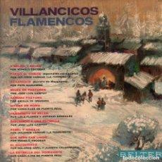 Discos de vinilo: VILLANCICOS FLAMENCOS - MANOLO ESCOBAR , LA TERREMOTO ... LP BELTER DE 1973 RF-7239. Lote 148135774