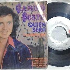Discos de vinilo: CAMILO SESTO - QUIÉN SERÁ / CONTRA EL AIRE DEL AÑO 1979 MÉXICO (MUY RARO). Lote 148136958
