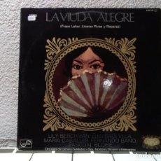 Discos de vinilo: LA VIUDA ALEGRE . Lote 148138214