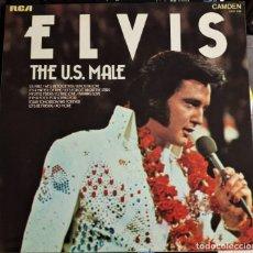 Discos de vinilo: ELVIS PRESLEY - THE U.S. MALE - LP / RCA CAMDEN UK - PUBLICADO 1975. Lote 147163194