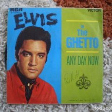 Discos de vinilo: ELVIS PRESLEY. IN THE GHETTO. ORIGINAL DE 1969.. Lote 148141178