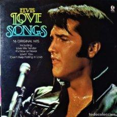 Discos de vinilo: ELVIS PRESLEY - LOVE SONGS - 16 HITS - KTEL (USA) 1981 -MUY BUEN ESTADO-. Lote 148142974