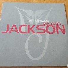 Discos de vinilo: DMC MEGAMIX PROMO MICHAEL JACKSON. Lote 148143025