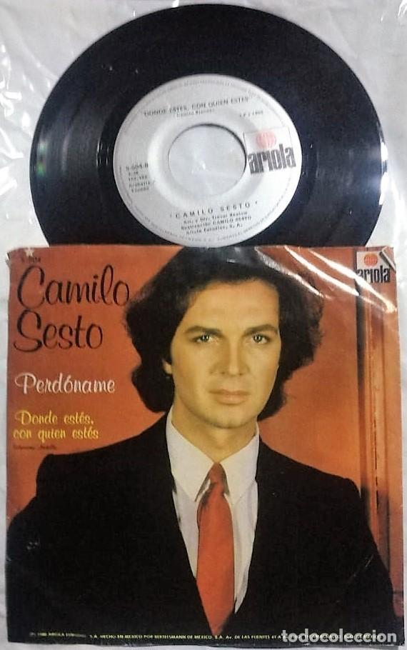Vinyl-Schallplatten: Camilo Sesto - Perdóname / Dónde Estés, Con Quién Estés del año 1980 México (raro) - Foto 2 - 148143418