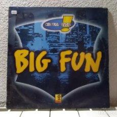 Discos de vinilo: BIG FUN . Lote 148145246