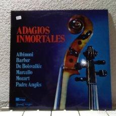 Disques de vinyle: ADAGIOS INMORTALES . Lote 148145382