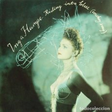 Discos de vinilo: INGA HUMPE - RIDING INTO BLUE (COWBOY SONG). Lote 148145822