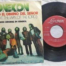 Discos de vinilo: CONEXION – PREPARAD EL CAMINO DEL SEÑOR (VERSION ORIGINAL EN ESPAÑOL) DEL AÑO 1972. Lote 148146910