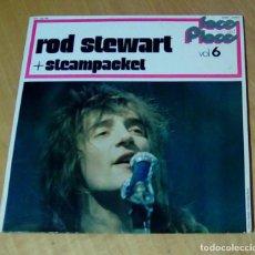 Discos de vinilo: ROD STEWART & STEAMPACKET - FACE AND PLACE VOL.6 (LP BYG 529 906). Lote 148149290