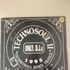 Discos de vinilo: TECHNO SOUL II REMIX TRANCE. Lote 148149972