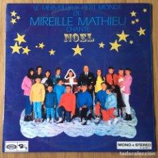 Discos de vinilo: MIREILLE MATHIEU CHANTE NOEL SONOPLAY ESPAÑA. Lote 148154118