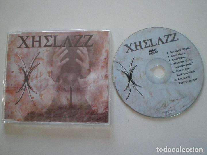 XHELAZZ - SIEMPRE FLUYO +2 - CD SINGLE RAP SOLO 2005 // HARDCORE HIP HOP RAP (Música - Discos de Vinilo - Maxi Singles - Rap / Hip Hop)