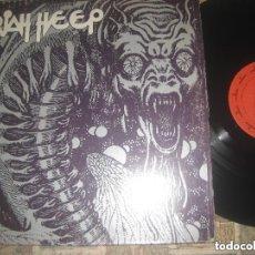 Discos de vinilo: URIAH HEEP - IDEM - 1º LP (MERCURY 1970) DOBLE CARPETA CENSURA HARD ROCK - ORIGINAL USA. Lote 148155446