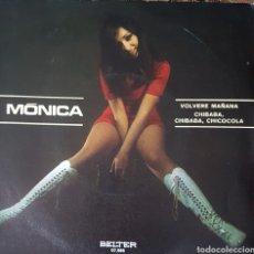 Discos de vinilo: MONICA SINGLE SELLO BELTER AÑO 1971. Lote 148155920
