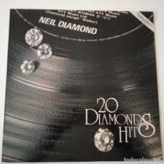 Discos de vinilo: NEIL DIAMOND- 20 DIAMONDS HITS- SPAIN LP 1979- EXC. ESTADO.. Lote 148155986