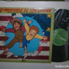 Discos de vinilo: LAS AVENTURAS DE TOM SAWYER LP RCA BSO TVE. Lote 148159798