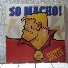 Discos de vinilo: SO MACHO! . Lote 148159854