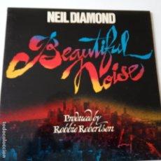 Discos de vinilo: NEIL DIAMOND- BEAUTIFUL NOISE - SPAIN LP 1976 + INSERT- EXC. ESTADO.. Lote 148162374