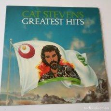 Discos de vinilo: CAT STEVENS- GREATEST HITS - SPAIN LP 1975 + INSERT- EXC. ESTADO.. Lote 148162990
