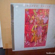 Discos de vinilo: GOLPES BAJOS - NO MIRES A LOS OJOS DE LA GENTE - MINI LP 5 CANCIONES CARPETA DETERIORADA. Lote 148167046