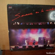 Discos de vinilo: LOS SUAVES - SUAVE ES LA NOCHE -DOBLE LP CARPETA BASTANTE USADA 1989 CON LETRAS CANCIONE. Lote 148167998