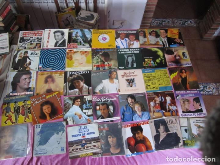 LOTE DE 35 DISCOS SINGLES Y EP BRUNO LOMAS RAPHAEL CASSEN PERLITA DE HUELVA (Música - Discos - Singles Vinilo - Solistas Españoles de los 70 a la actualidad)
