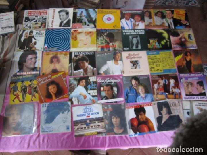 Discos de vinilo: LOTE DE 35 DISCOS SINGLES Y EP BRUNO LOMAS RAPHAEL CASSEN PERLITA DE HUELVA - Foto 2 - 148171030