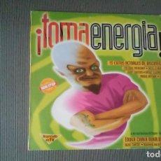 Disques de vinyle: TOMA ENERGIA-REEL 2 REAL,FREDDIE MERCURY,..LP. Lote 148171846
