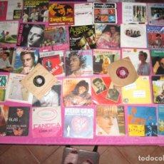 Discos de vinilo: LOTE DE 37 DISCOS SINGLES Y EP MEJIA ORQUESTA SENSACION DELTA DAWN FABRICE RUY BLAS. Lote 148173386
