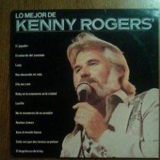 Discos de vinilo: KENNY ROGERS - LO MEJOR DE..., LIBERTY, 1980. SPAIN.. Lote 148173750