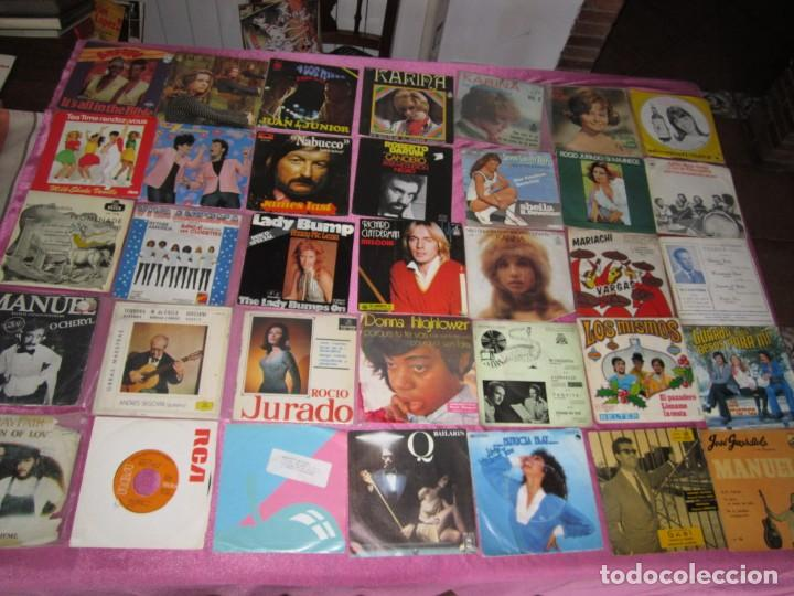 LOTE DE 35 DISCOS SINGLES Y EP LOS MISMOS DARVIN GUAYABA (Música - Discos - Singles Vinilo - Solistas Españoles de los 70 a la actualidad)