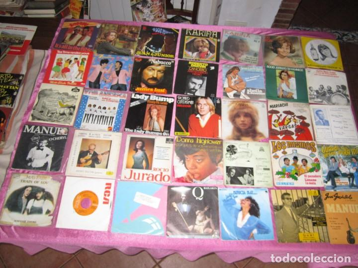 Discos de vinilo: LOTE DE 35 DISCOS SINGLES Y EP LOS MISMOS DARVIN GUAYABA - Foto 2 - 148173778