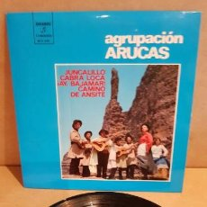 Discos de vinilo: AGRUPACIÓN ARUCAS / JUNCALILLO / EP - COLUMBIA - 1973 / MBC. ***/***. Lote 148174266