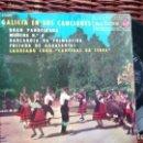 Discos de vinilo: E P ( VINILO) DE CORO CANTIGAS DA TERRA AÑOS 60. Lote 148179414