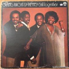 Discos de vinilo: GLADYS KNIGHT & THE PIPS STILL TOGETHER LP BUDDAH EDIC INGLESA DISCO EXC. Lote 148186938