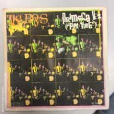 Discos de vinilo: THE BOYS · PRIMERA VEZ (FIRST TIME) + 2 · RARE SPANISH PUNK ROCK SINGLE 1978. Lote 148187474