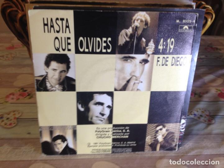 Discos de vinilo: MIGUEL RIOS - HASTA QUE OLVIDES / OCASIÓN SINGLE VINILO - Foto 2 - 148190430